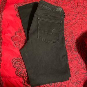 American Eagle Black Jean